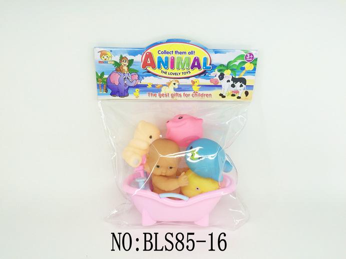 搪塑动物配浴池,bls85-16,其他体育玩具,宝丽斯搪塑厂